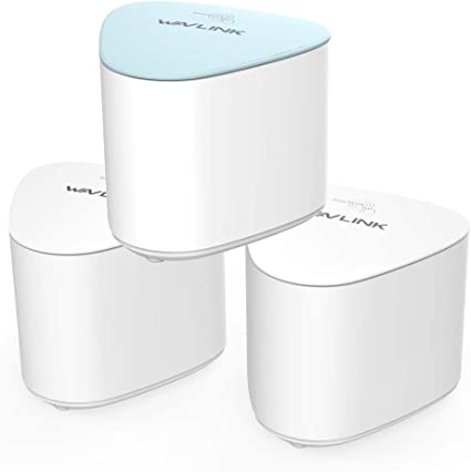 WAVLINK HALO Pro AC2100 Tri-Band Whole Home Mesh WiFi System, 2.4 ...