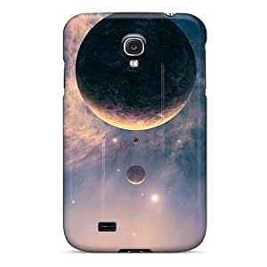 Top Quality Rugged Falling Planet Case Cover For Galaxy S4