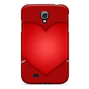 Snap-on Cases Designed For Galaxy S4- Big Red Heart
