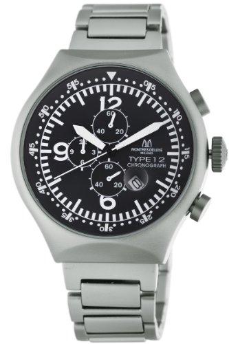 Reloj cronógrafo de aluminio de 50 mm para hombre Montres De Luxe
