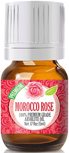 Essential Chamomile Oil Moroccan - Rose Absolute Oil (Moroccan) - Premium Grade, 5ml by Healing Solutions Essential Oils