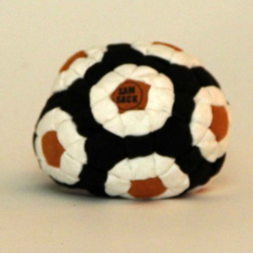 Sam Sack -Series 2 Footbag ''The Fat Bomb''144 Panels Amara Suede - Pellet Filled by Sam Sack