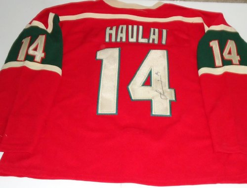 Martin Havlat signed *Minnesota Wild* hockey jersey -Comes with a Certificate of Authenticity from ezgraphs *Autographed ()