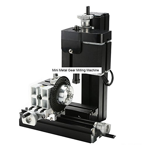 TZ10002MZ 60W Mini Metal Gear Milling Machine/60W,12000rpm Big power vertical mill machine by MUCHENTEC