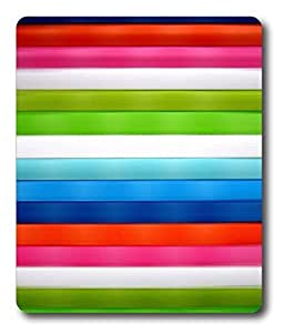 computer mousepad best Chevron Stripes Cool PC Custom Mouse Pads / Mouse Mats Case Cover by lolosakes