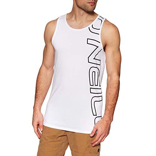 - O Neill Graphic Tank Vest Small Super White