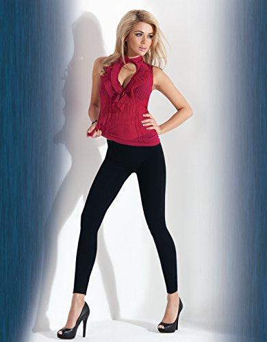 Legging Femme Blanc Annes Taille Unique FYZnwTq