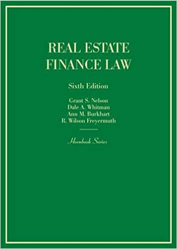 real-estate-finance-law-hornbooks