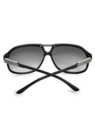 Navigator Men's Matte Black Factory Guess Sunglasses xwTvqA5Yf