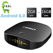 Android 6.0 Smart TV Box - T95D 2G Ram 16G Rom Rockchip RK3229 Quad-core A7 processor 2.4G WiFi Internet TV Box with HDMI 2.0 4K*2K 1080P BT4.0 H.265