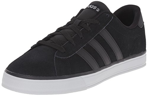 NEO Adidas Mens Daily Lifestyle Skateboarding Sneaker Black/Clear Onix Grey/Black