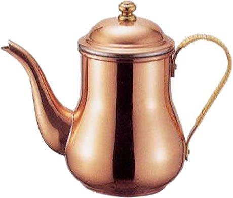 11.格調高い「COPPER100 純銅製コーヒーポット」