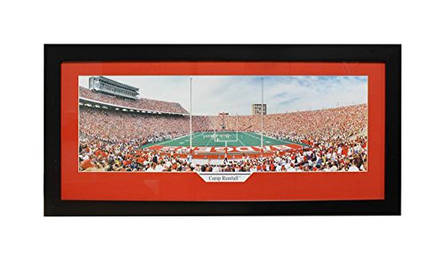 Encore Select 324-45 NCAA Wisconsin Badgers Camp Randall Panoramic Frame, 15-Inch by 35-Inch by Encore