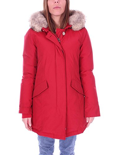 Rosso Rosso Cappotto Donna Woolrich Cappotto Woolrich Woolrich Cappotto Rosso Donna Donna ICAqxwaO