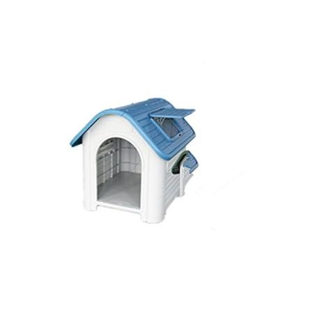 Jomax - Caseta de plástico Lavable para Perro, casa de Mascotas con Puerta