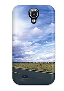 Hot KAtVgrj3431ZyHYp Road Tpu Case Cover Compatible With Galaxy S4