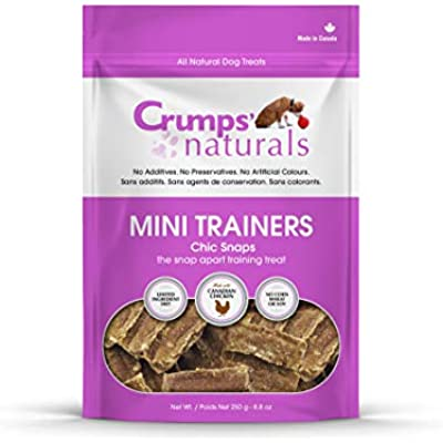 Crumps' Naturals Mini Trainers Chic Snaps (1 Pack), 120G/4.2 Oz