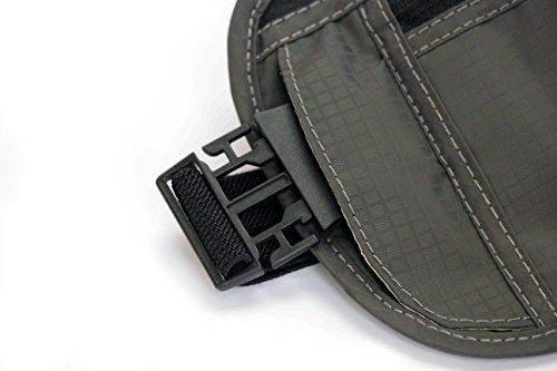 Elbergs Reise-Bauchtasche mit RFID-Blockierung