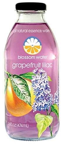 Blossom Water Grapefruit Lilac All Natural Essence Water, 16 oz