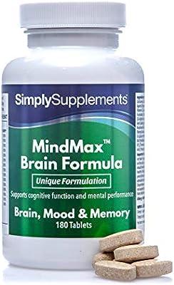 Vitaminas para la Memoria - ¡Bote para 2 meses! -180 Comprimidos - SimplySupplements: Amazon.es: Salud y cuidado personal