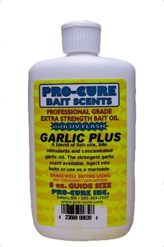 Pro-Cure Garlic Plus Bait Oil, 8 Ounce