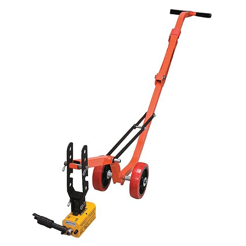 Allegro Industries 9401-26 Magnetic Lid Lifter, Steel Dolly, Heavy Duty Magnet Lift, Weight 900 lb Flat Items, 450 lb Round Items