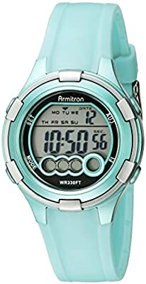 Armitron Sport Women's 45/7053 Digital Resin Strap Watch