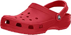 Classic clogLooking for the ultimate warm-weather shoe? Crocs' Classic clog has a ventilated upper and a traction outsole to make it a top wet-dry performer--perfect for the beach--but we can think of a zillion other places you'll want to wea...