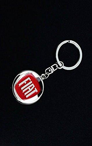 Lujo automotiva Fiat 3d efecto cromado de lujo Logo estilo ...