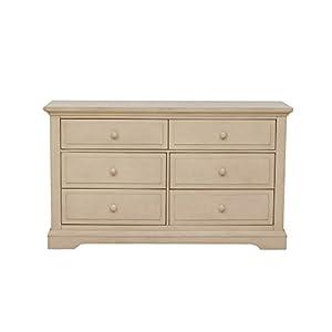 Centennial Chatham 6 Drawer Double Dresser- Driftwood