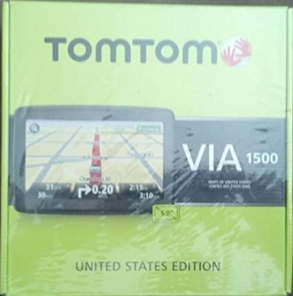 Amazon.com: Tomtom VIA 1500 United States Edition 5 Inch Touchscreen