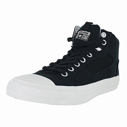 r All Stars Asylum Mid Skate Shoes (6 D(M) US, Black/White) ()