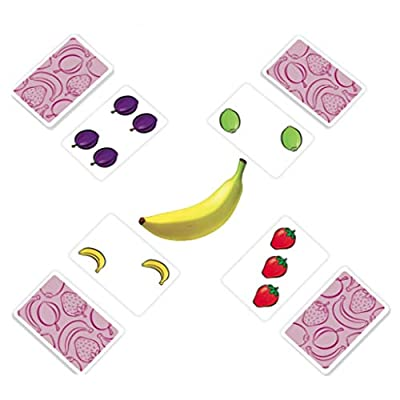 AMIGO Fruit Punch Kids Card Game with A Squeaky Banana!: Toys & Games