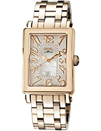 Woman's 'Ave Of Americas Mezzo' Quartz and Stainless Steel Rose Gold Toned Watch