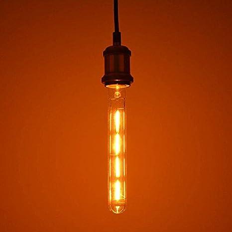 Barcelona LED V100-ST30 Bombilla LED de filamento al estilo vintage ST30 4W Blanco extra-cálido 1800 K: Amazon.es: Iluminación