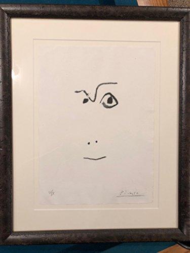 Picasso Original Lithograph - PABLO PICASSO Hand Signed ORIGINAL LIMITED EDITION Lithograph DE 1916 A 1961 COA