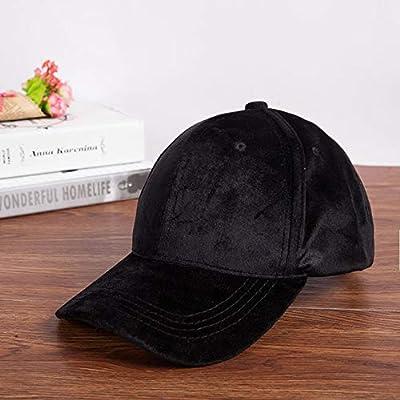 kyprx Sombreros de Sol para Mujer Gorras de béisbol de Terciopelo ...