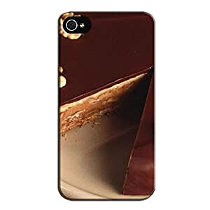Red TPU For Iphone 4 For Choco Lovers Skid-proof For Choco Lovers Case Cover