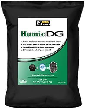 The Andersons Humic DG Granular Soil Conditioner - Humic Acid Granules - 11 lb bag