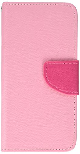 Asmyna MyJacket Wallet with Card Slot for Amazon Fire Phone - Retail Packaging - Hot Pink Liner (Card Case For Amazon Fire Phone)
