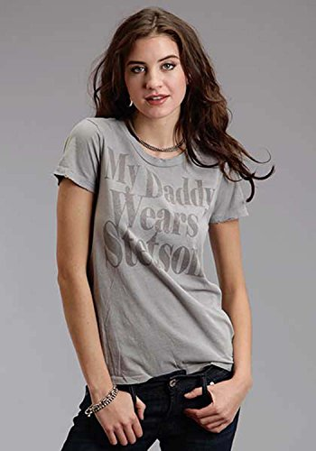 (My Daddy Wears An Stetson Stetson Ladies Collection-t-sh (xl) 11-039-0562-0753GY)