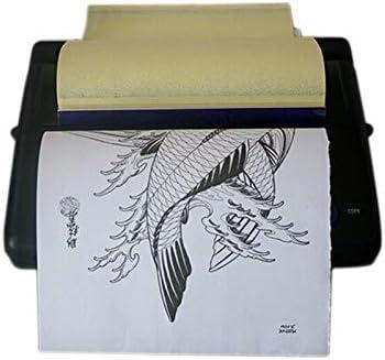 A4 Tattoo Transfer Kopierer Tattoo Thermal Thermischen Kopierer Drucker Printer Thermotransfer Maschine 5W Tattoo Thermotransfer Maschine