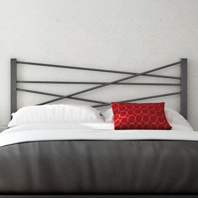 Amisco Crosston Metal Headboard Only, Queen Size 60