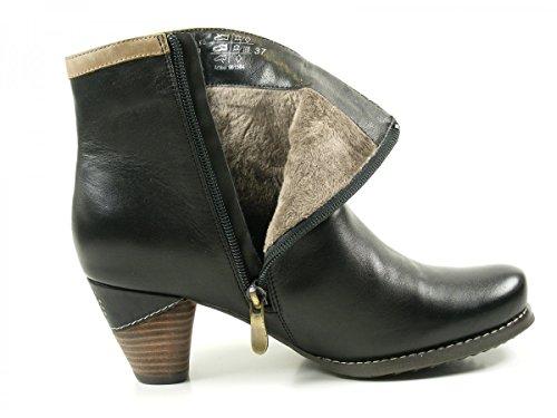 Manitu 961564 Womens Ankle Boots Schwarz FBgzR