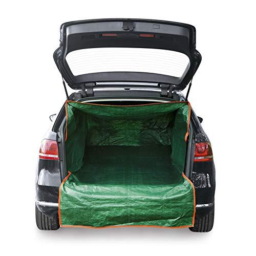 PRIMA GARDEN Kofferraum-Transportsack   Kofferaumschutz für Gartenabfälle, Bauschutt & Holz   Universalgröße M-XXL   Reißverschluss   Wasserabweisend   Belastbarkeit 45 kg