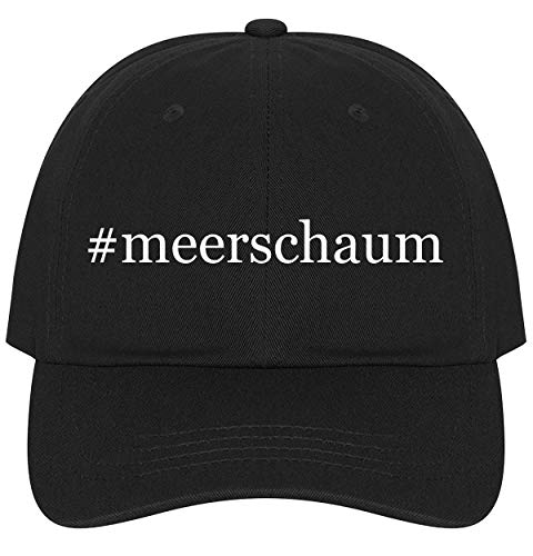 The Town Butler #Meerschaum - A Nice Comfortable Adjustable Hashtag Dad Hat Cap, Black
