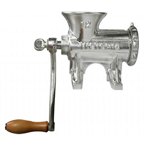 manual meat grinder and sausage stuffer