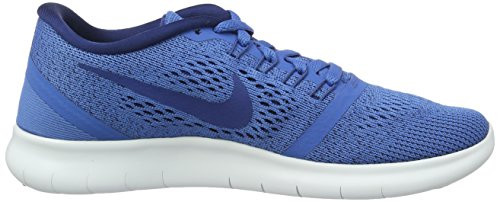 Nike Womens Free Rn Scarpa Da Running Stella Blu / Bianco / Blu Costiero 7.5
