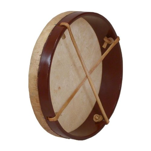 Frame Drum, 10'', with Beater by Mid-East