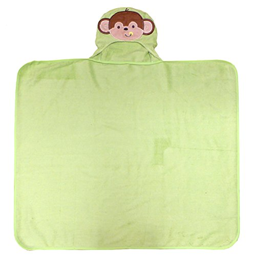Neat Solutions 100% Cotton Woven Terry Hooded Bath Towel for